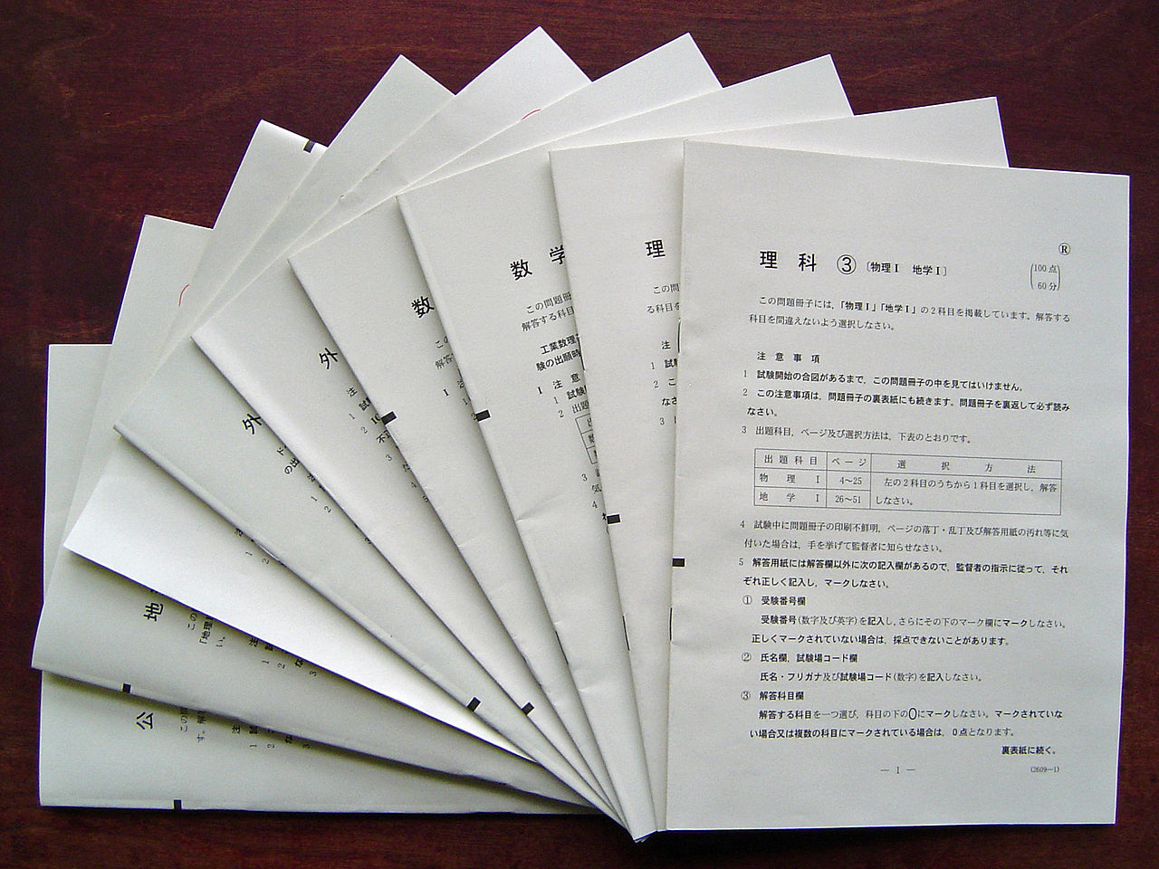 大学入試センター試験対策